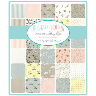 Moda Hushabye Hollow Fabric by Lydia Nelson for Moda Fabrics