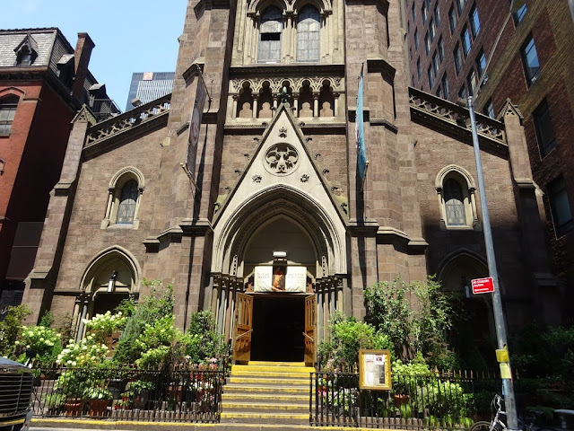Church  St John the Baptist - New York