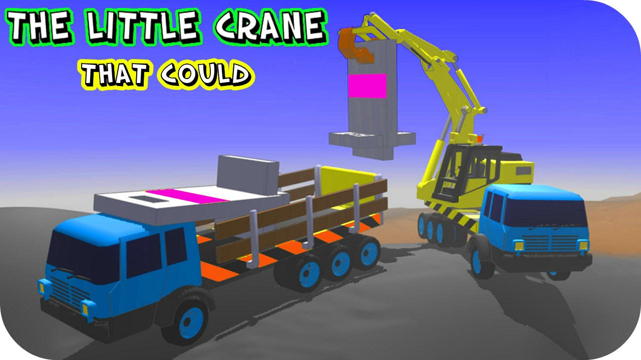 The Little Crane That Could APK Mod v6.41 (Unlocked, Offline) for Android