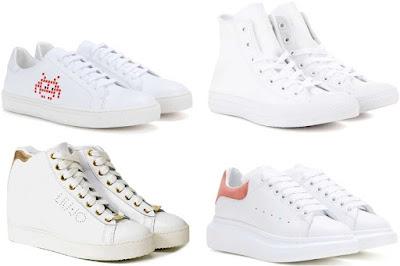 sneakers scarpe da donna autunno inverno 2016-17