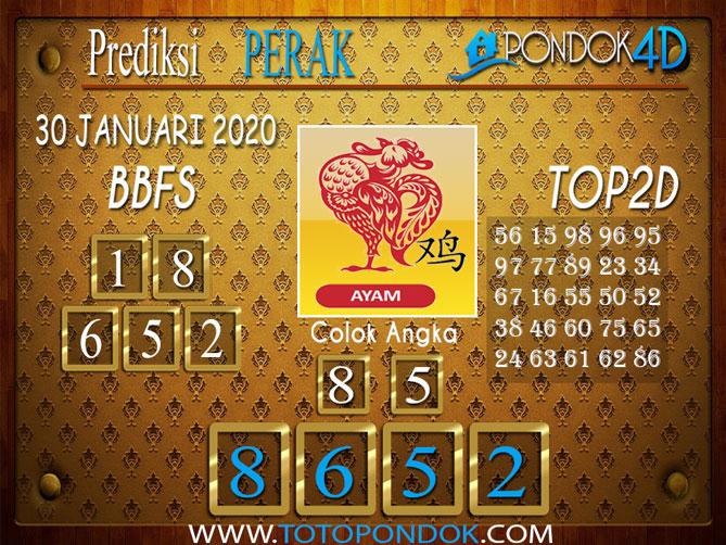 Prediksi Togel PERAK PONDOK4D 30 JANUARI 2020