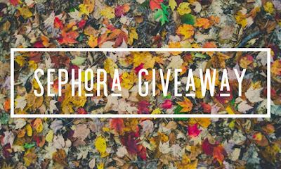 Enter the October Sephora $100 Gift Card Giveaway. Ends 11/2. Open WW