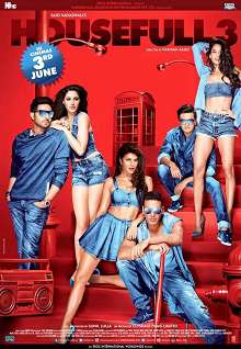 Housefull 3 Hindi Movie Review