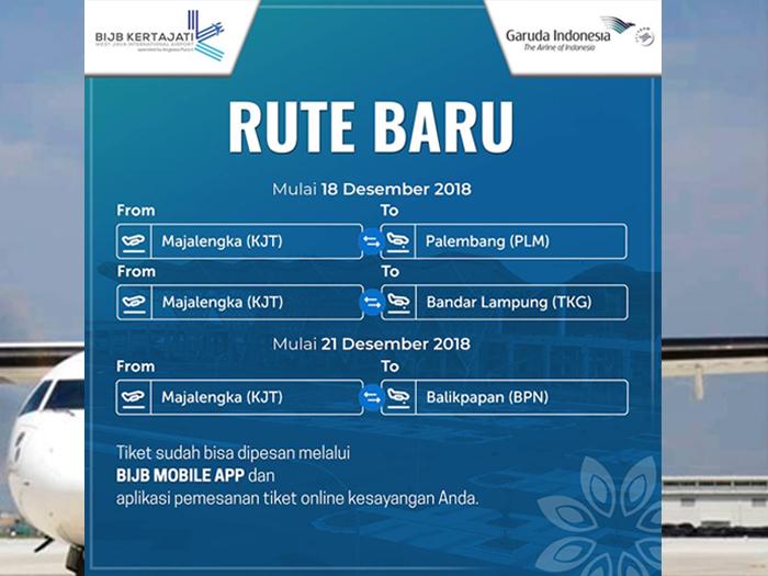 jadwal penerbangan garuda indonesia rute kertajati ke palembang rh wisatajabar com
