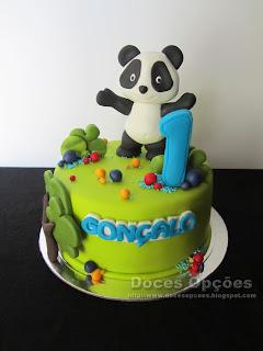 O Panda no 1º aniversário do Gonçalo