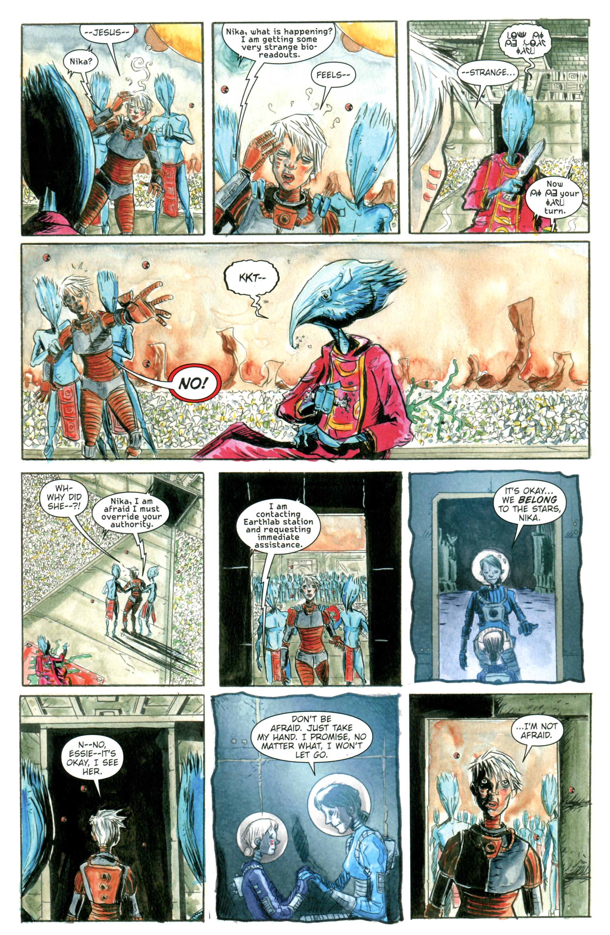 Read online Trillium comic -  Issue #1 - 28
