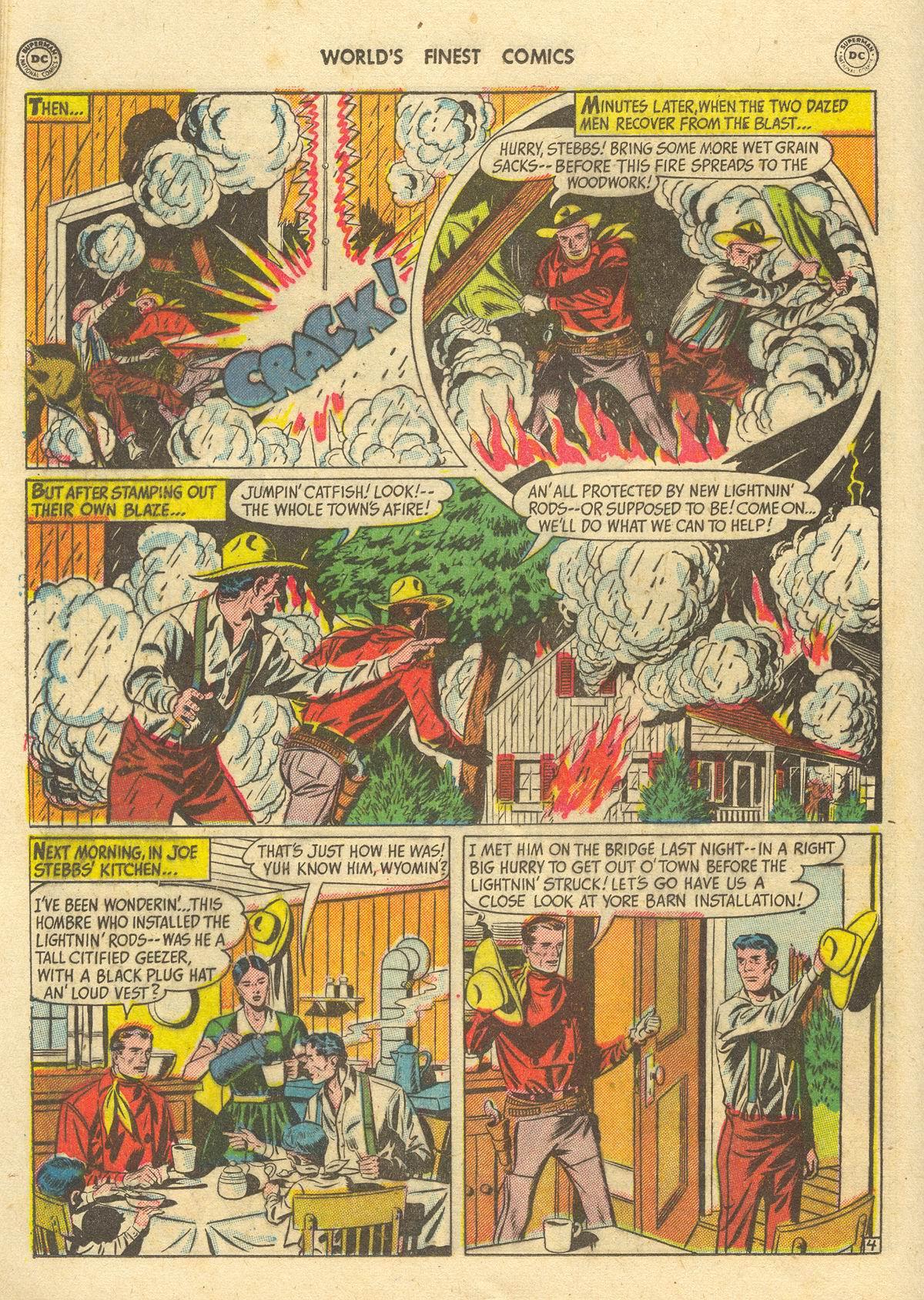 Read online World's Finest Comics comic -  Issue #51 - 46