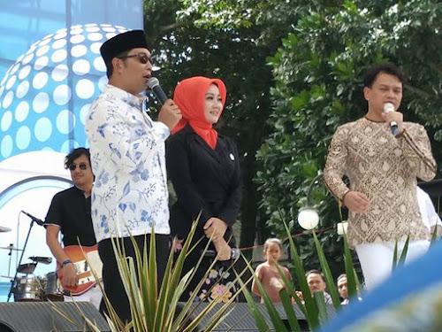 Hiburan Kahitna Halalbihalal pemkot Bandung