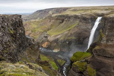The amazing waterfalls in Þjórsárdalur - South Iceland