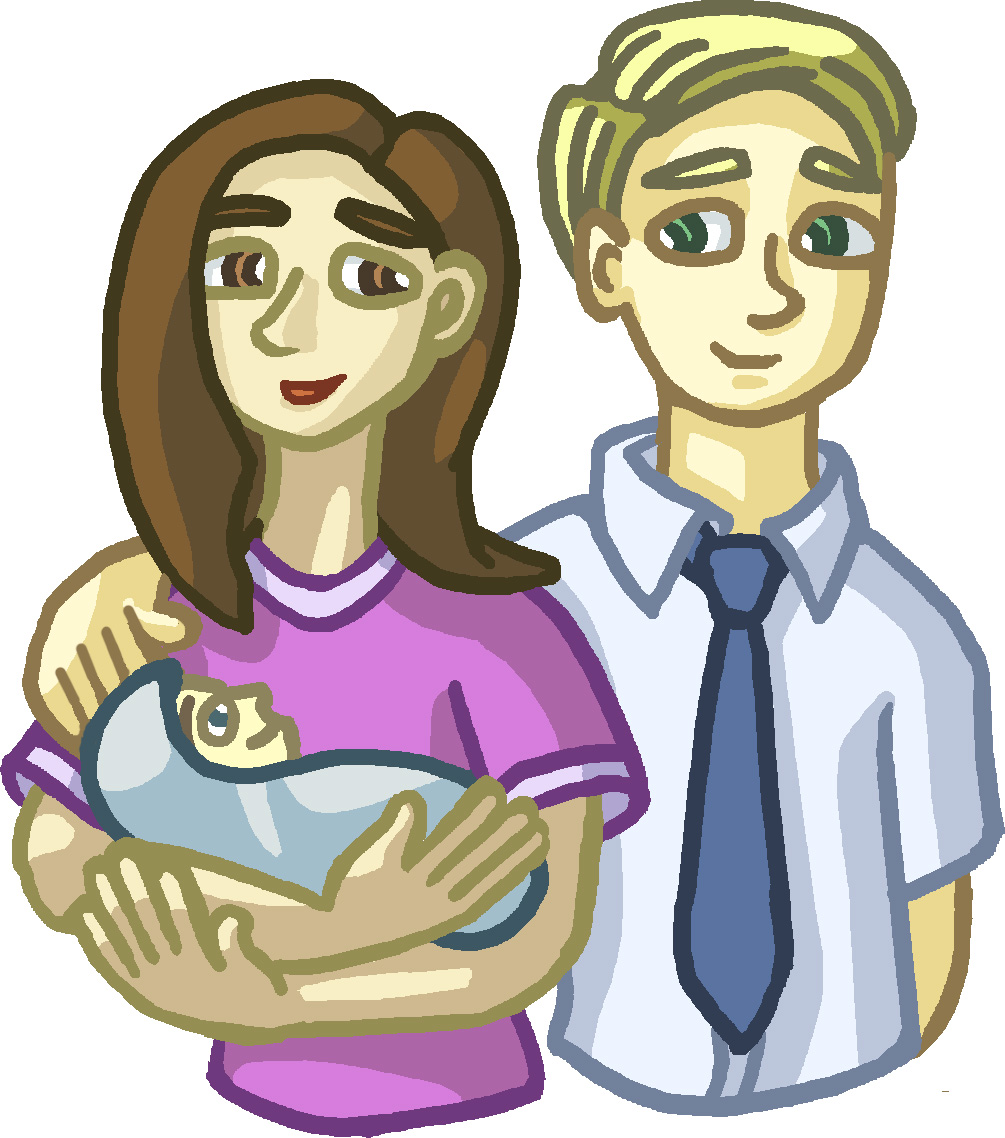 Baby family with. Ldsfiles clipart new