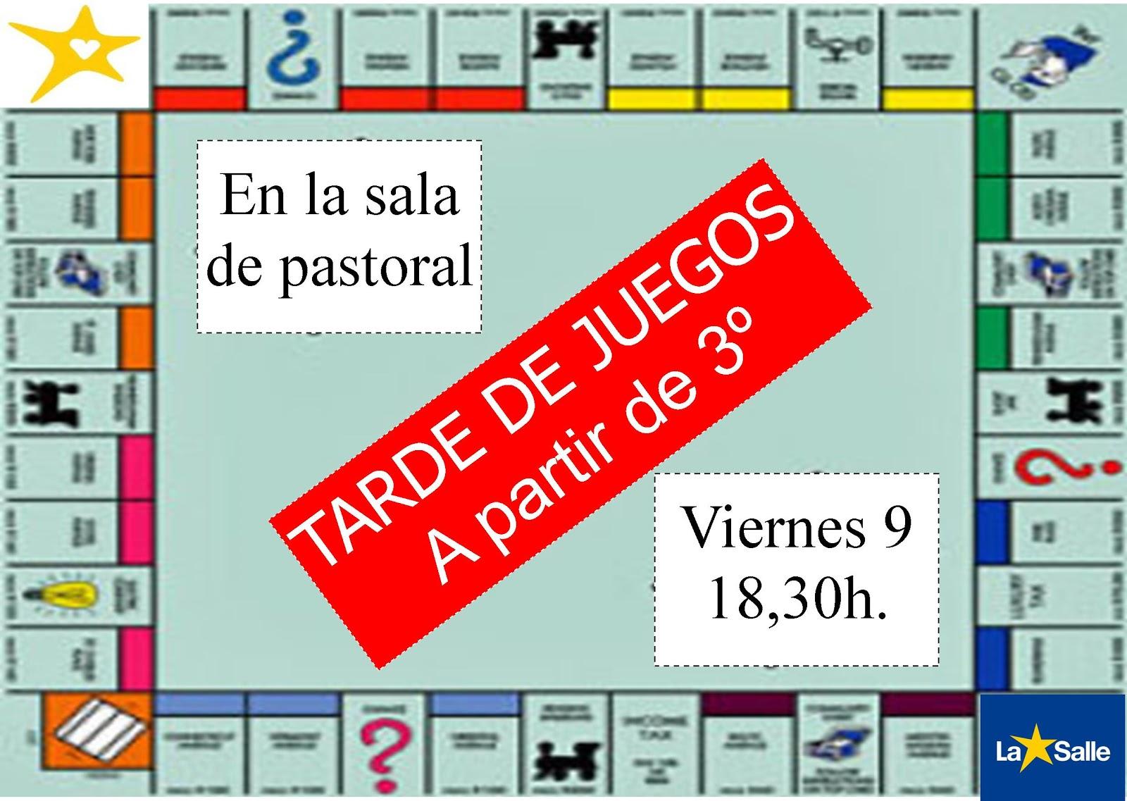 Grupos Cristianos La Salle Burgos Tarde De Juegos