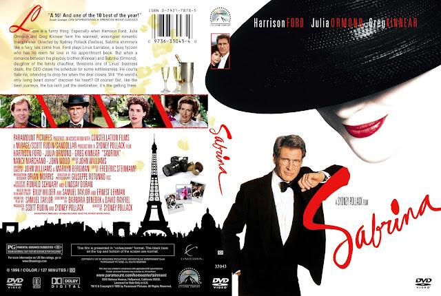 Sabrina DVD Cover