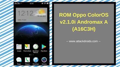 ROM Oppo ColorOS v2.1.0i Andromax A (A16C3H)