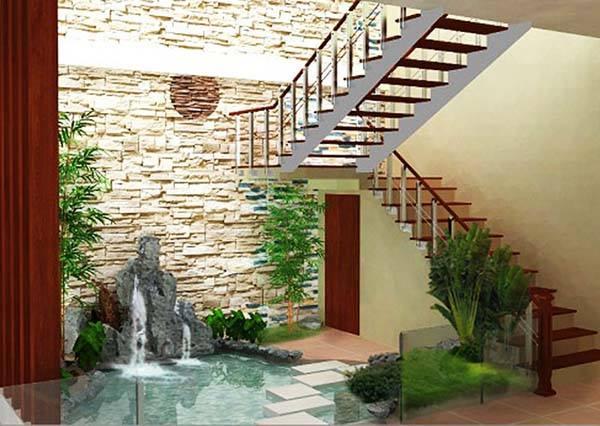 Apartment Garden Courtyard
