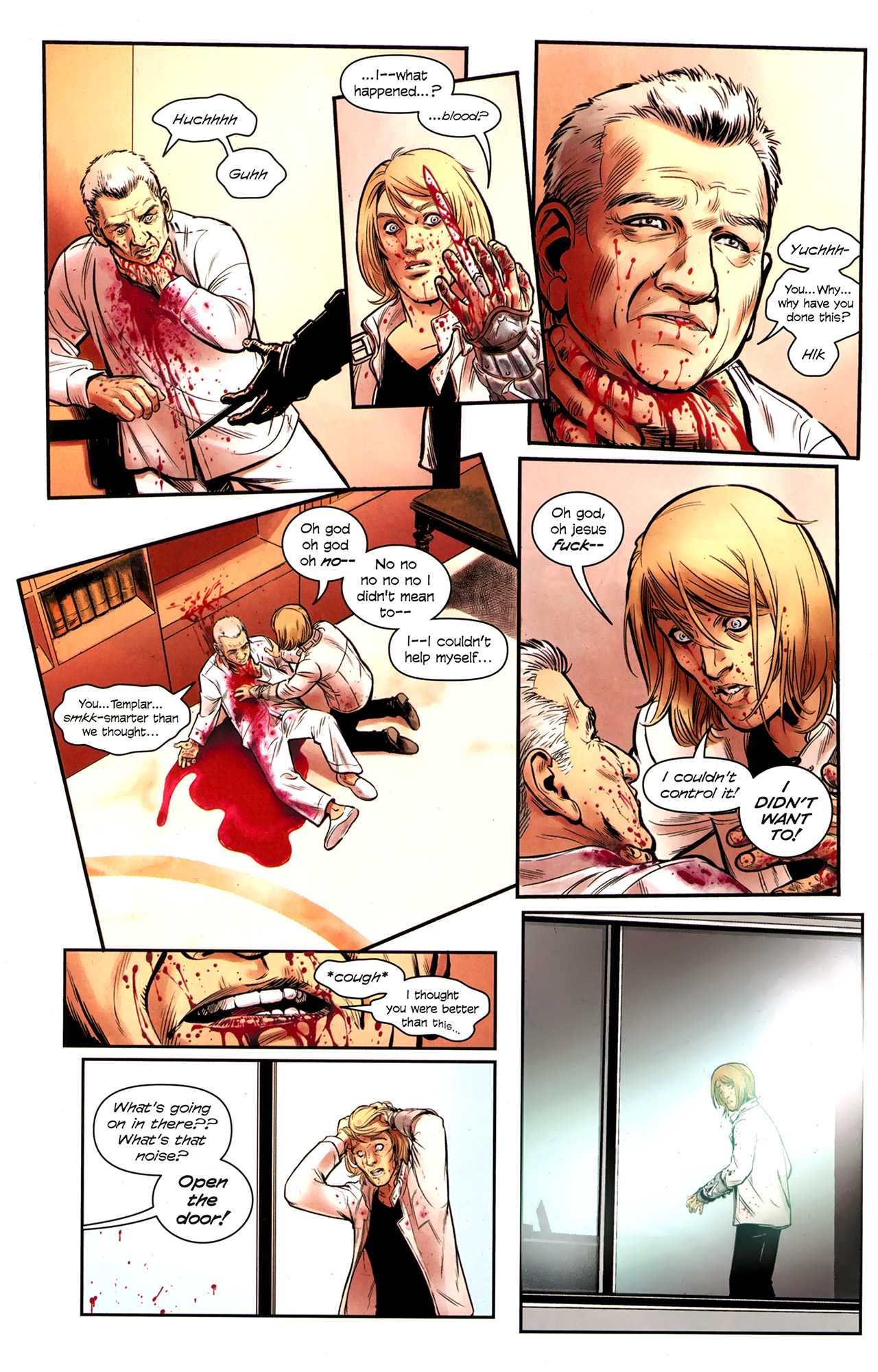 Read online Assassin's Creed: The Fall comic -  Issue #3 - 21