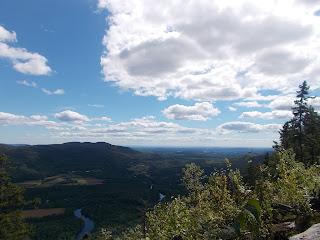 Vallée-Bras-du-Nord, l'été, paysage