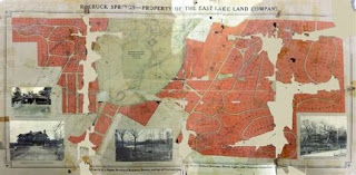 Map of Roebuck Springs neighborhood in Birmingham, Alabama