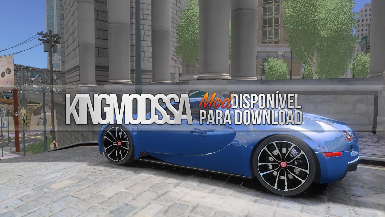 king mods sa gta iv bugatti veyron 16 4. Black Bedroom Furniture Sets. Home Design Ideas