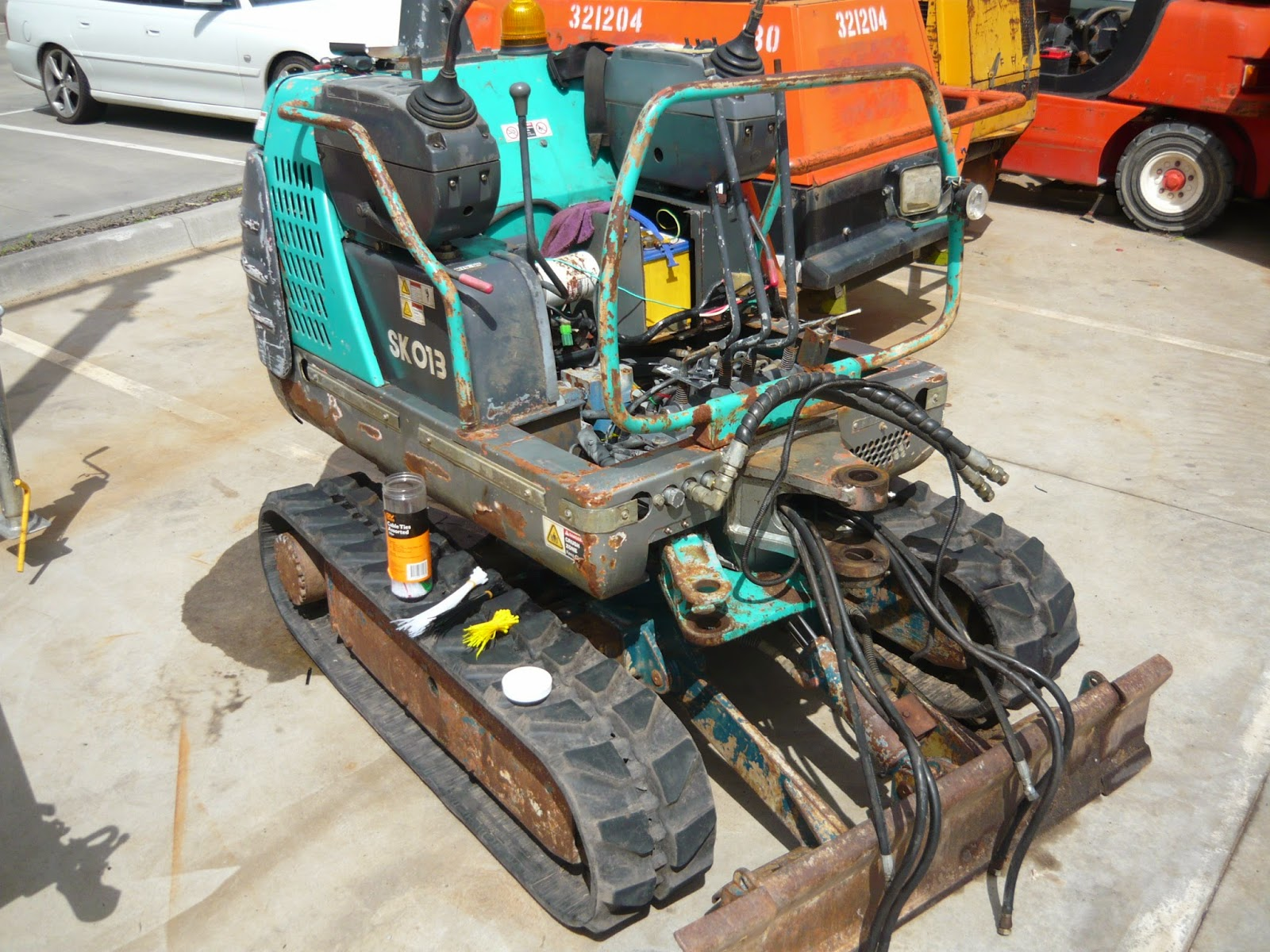 Christie Pacific Case History Kobelco Slew Ring Bearing