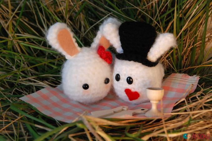 Valentines Day Bunny Free Crochet Pattern Httpeveleder