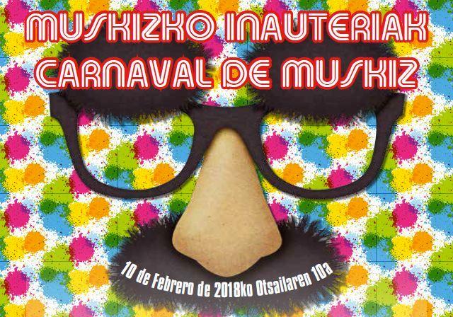 Muskiz, preparado para el Carnaval