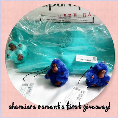 SHAMIERA OSMENT'S FIRST GIVEAWAY!