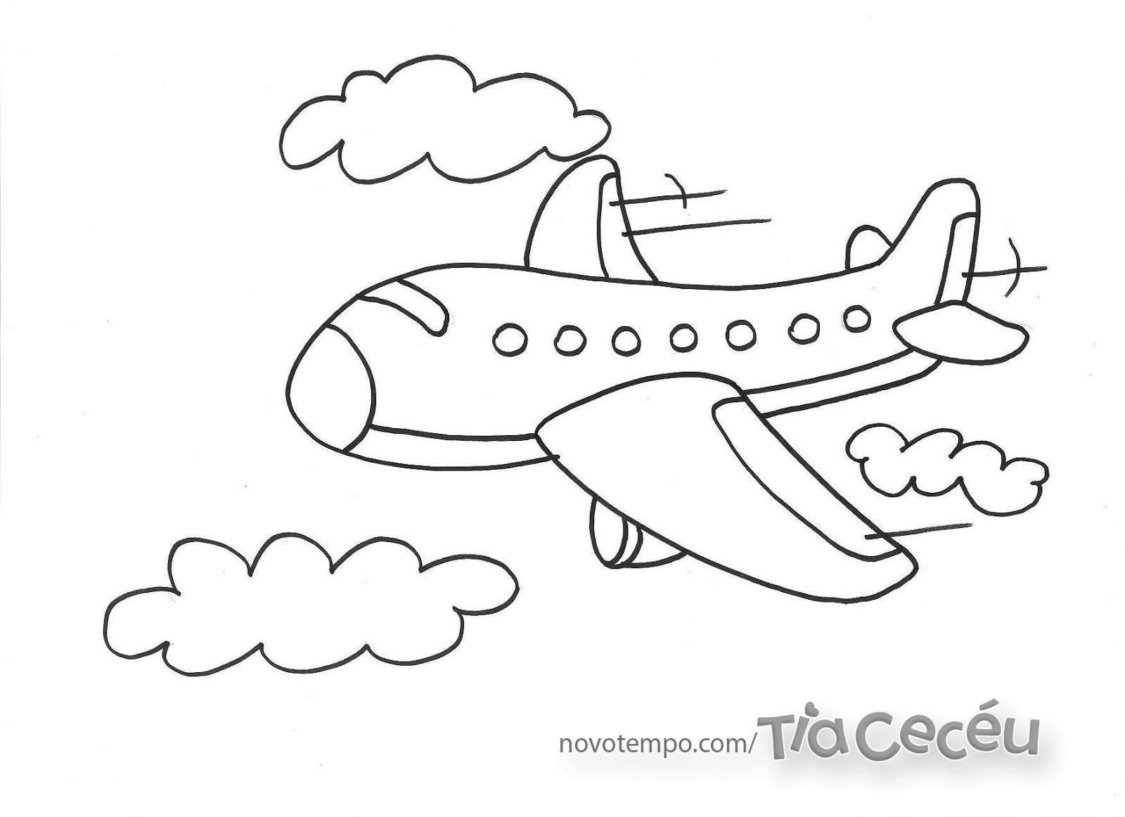 Colirir-Desenhos De Avião Para Pintar:Piadas Para Facebook