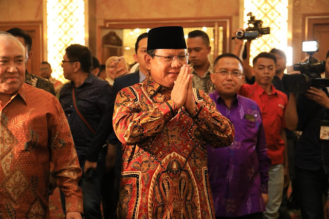 Prabowo: 99,99 Persen Pemikiran PIM Cocok dengan Saya