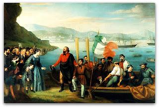 'A Partida da Expedição dos Mil' - Museo Nazionale del Risorgimento Italiano, Turim