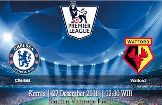 Prediksi Chelsea vs Watford 27 Desember 2018
