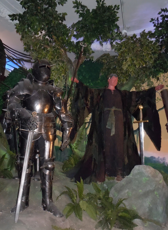 King Arthur and Merlin Excalibur costumes