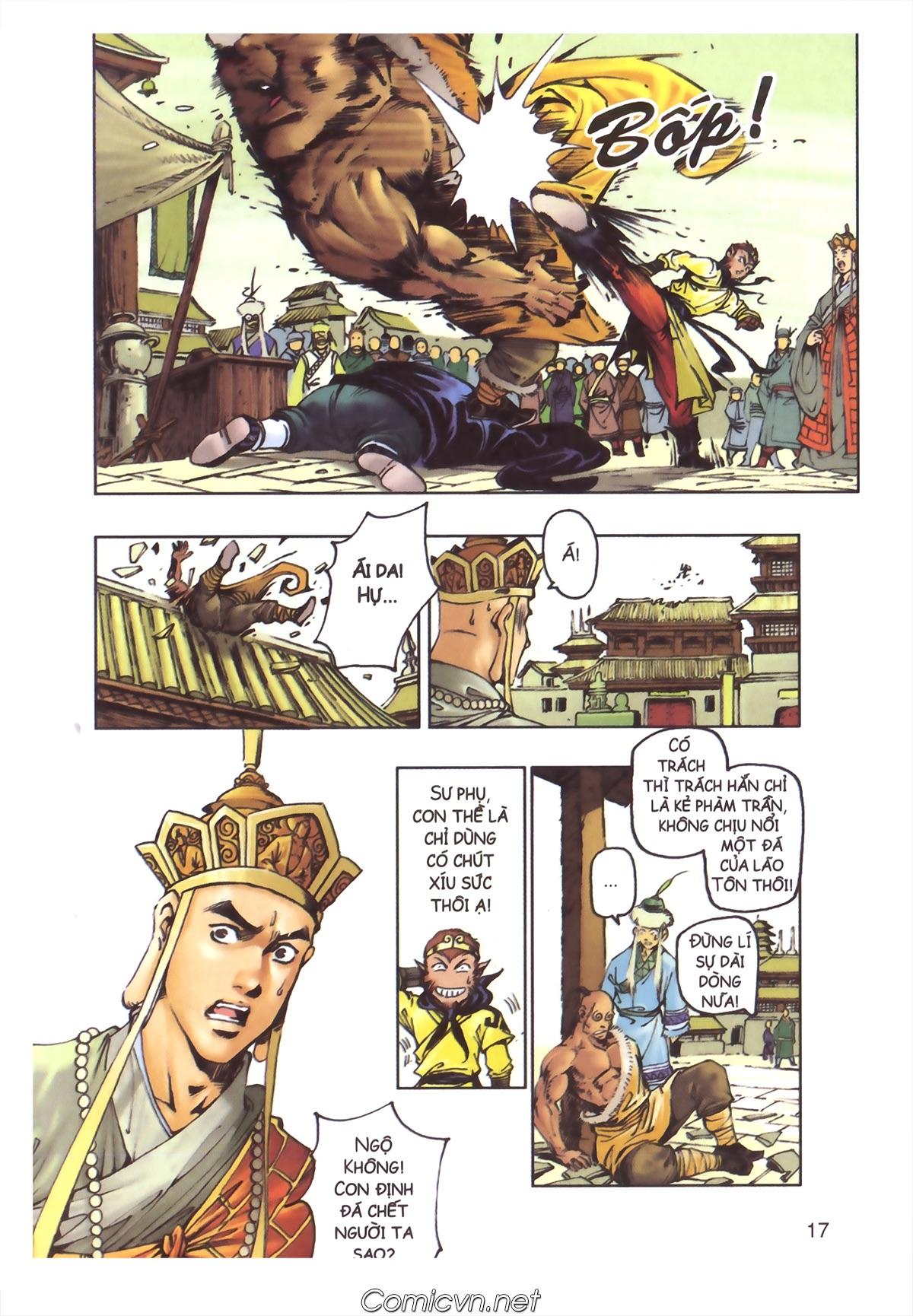 Tây Du Ký màu - Chapter 110 - Pic 15