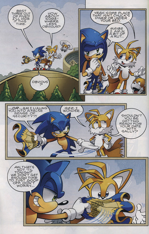 Read online Sonic The Hedgehog comic -  Issue #222 - 5