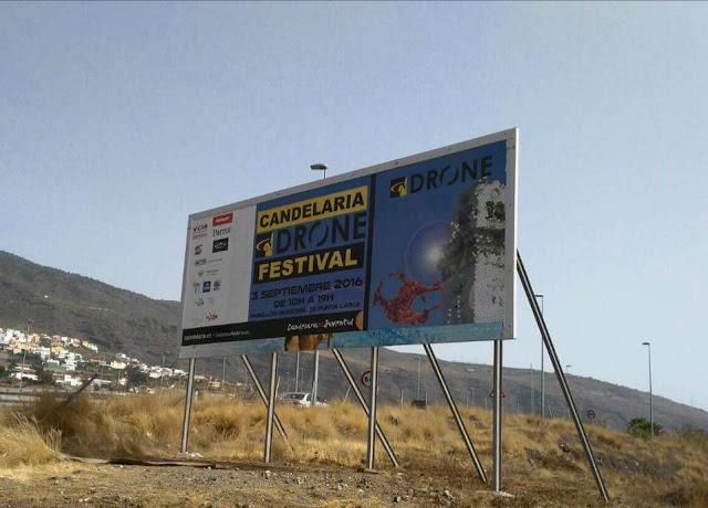 Resumen del @CandelariaDrone Festival, un evento cercano y en un enclave inmejorable