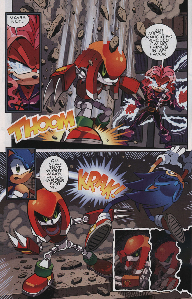 Read online Sonic The Hedgehog comic -  Issue #243 - 30