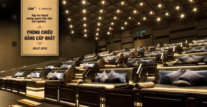 Phát sốt với rạp cinema giường nằm siêu đẳng cấp chỉ có ở Sài Thàn0h