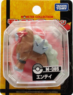 Entei figure Takara Tomy Monster Collection M series