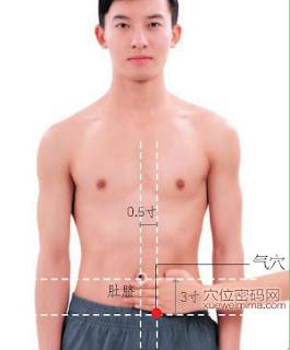 氣穴位 | 氣穴痛位置 - 穴道按摩經絡圖解 | Source:xueweitu.iiyun.com