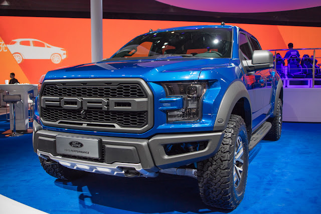 Ford F-150 Raptor Shines Under Beijing Spotlights