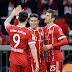 Bayern atropela o Dortmund no 1º tempo, goleia por 6 a 0 com três de Lewa e fica a uma vitória do título