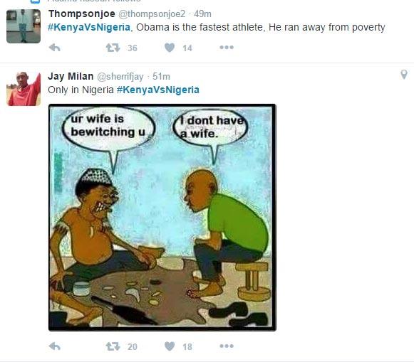 #KenyaVsNigeria: Kenyans roast Nigerians on Twitter