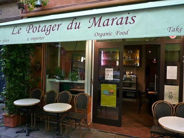 Restaurante Le Potager du Marais em Paris