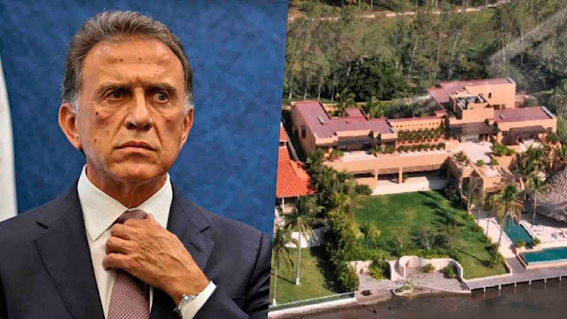 PGR investiga a Yunes Linares por enriquecimiento ilícito.