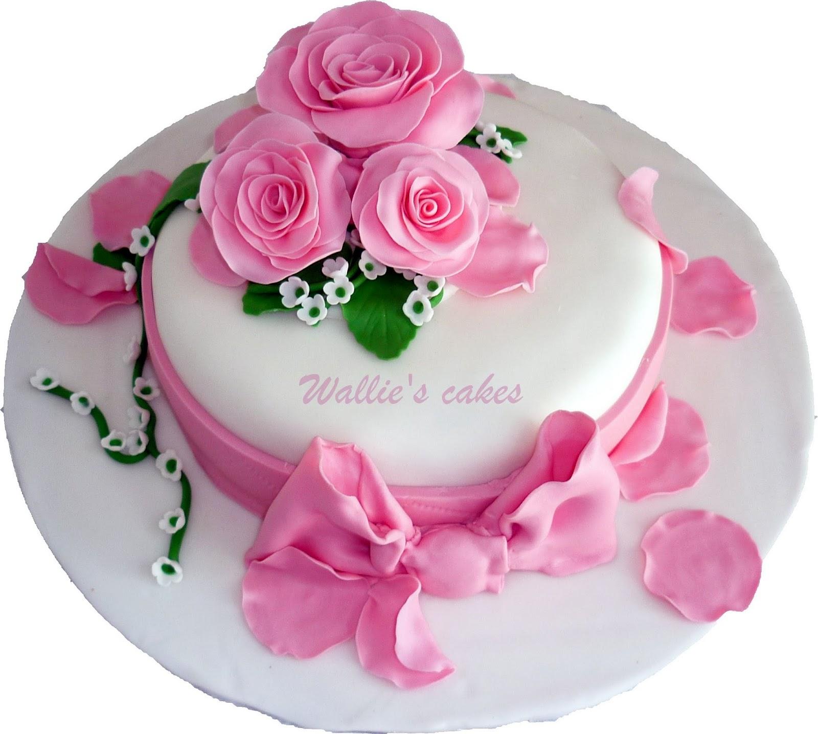Estremamente Il bistrot di Valeria: Torta con le rose per la festa della mamma KT44