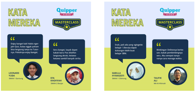 Cara Upgrade Quipper Video Masterclass