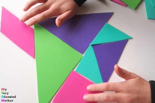 Tangrams are a great imaginative play item or a fun way to challenge little, and big, minds.
