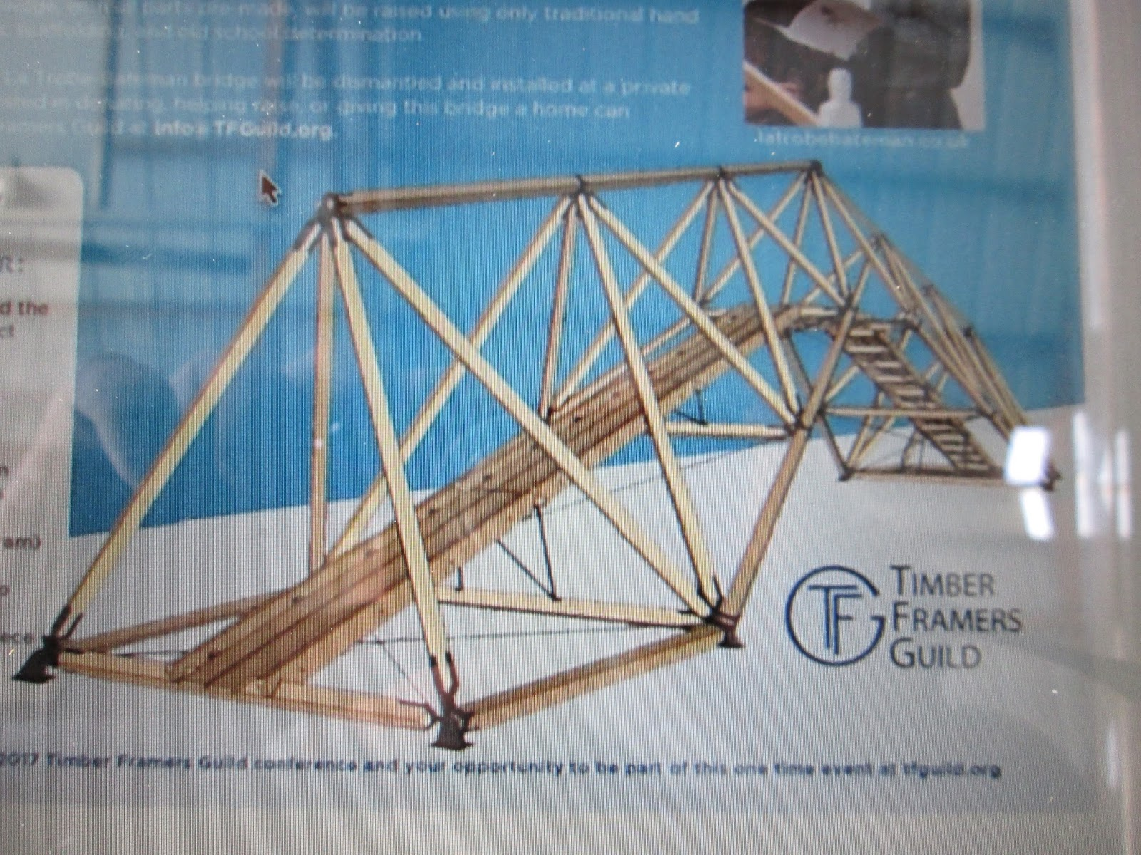 Bridges to the future timber frame bridge project for Timber frame bridge