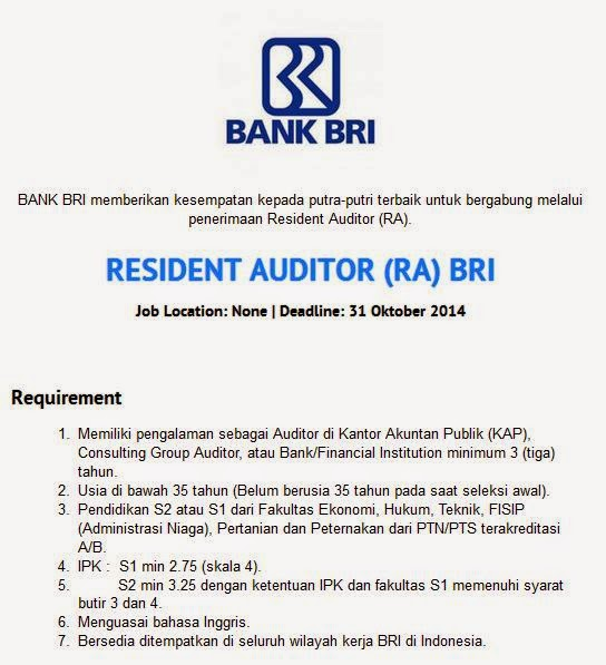 Lowongan Kerja It Bandung 2014