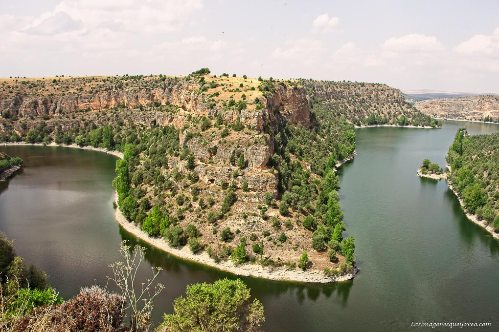 Mirador de San Frutos, el mejor lugar para fotografiar los buitres del Parque Natural de las Hoces del Duratón