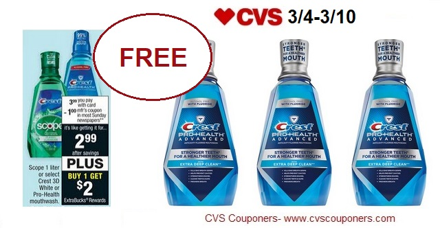 http://www.cvscouponers.com/2018/03/free-crest-pro-health-mouthwash-at-cvs.html